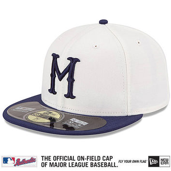 Kansas City Royals Authentic Collection Turn Back The Clock Negro Leagues Tribute On-Field 59FIFTY Game Cap - MLB.com Shop