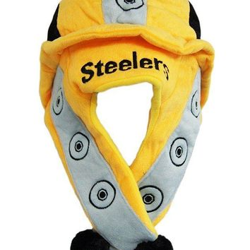 Pittsburgh Steelers Short Thematic Dangle Hat