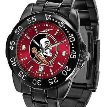 Florida State Seminoles Mens Fantom Watch Gunmetal Finish