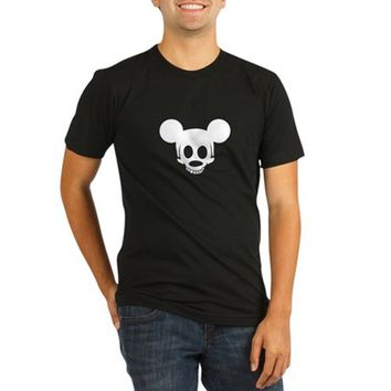 Mucky Mouse Organic Men's Fitted T-Shirt (dark)