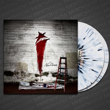 New Demons White W/ Black Burst 2Xlp : MNDI : MerchNOW