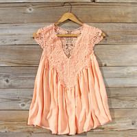 Shaded Peach Top