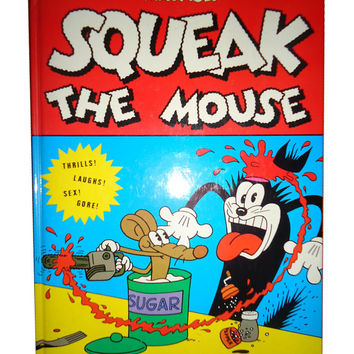 SQUEAK The MOUSE by Mattioli 1984 Graphic Novel 1st edition hardcover