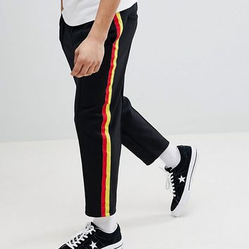 Only & Sons Tracksuit Jogger With Stripe at asos.com