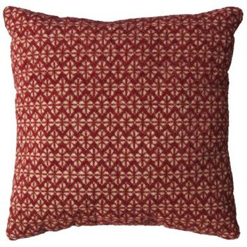 Threshold™ Diamond Decorative Pillow - Red