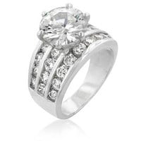 Classic Engagement Ring, size : 07
