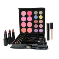 Mineral Makeup Kit with Medium to Dramatic Tones