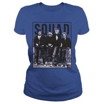 Golden girls squad shirt Classic Ladies Tee