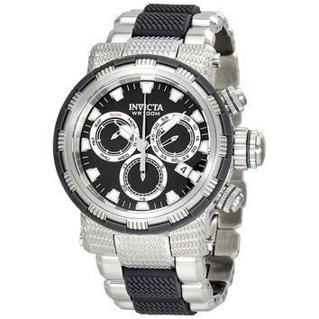 Invicta Specialty Chronograph Black Dial Mens Watch 23976