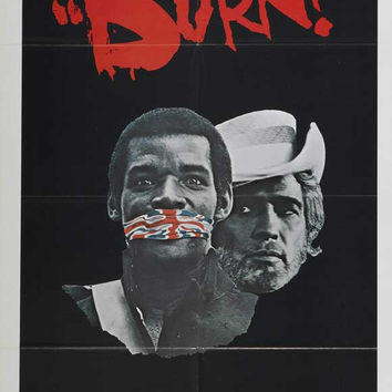 Burn! (UK) 11x17 Movie Poster (1969)
