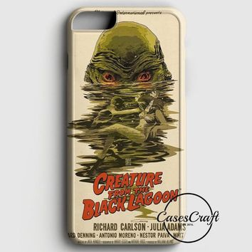 Creature From The Black Lagoon Poster iPhone 8 Plus Case | casescraft