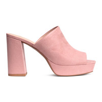 Platform Mules - from H&M