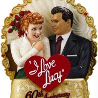 Christmas Ornament - I Love Lucy 60th Anniversary