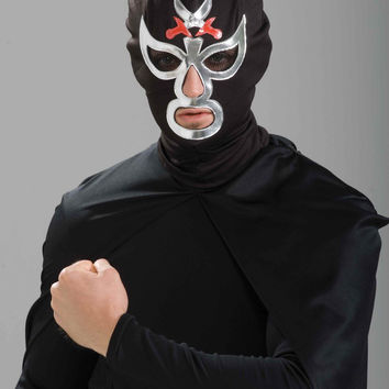 Halloween Masks Mexican Wrestler Costume Mask