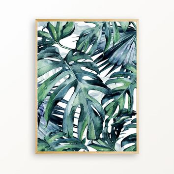 Deep In The Tropical Jungle - Matte Print