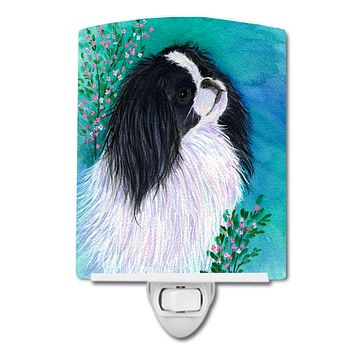 Japanese Chin Ceramic Night Light SS8134CNL