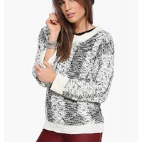 Joa Two Tone Sweater