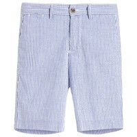 Boys Blue Striped Shorts