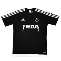 Adidas x Yeezus Soccer Jerseys in Black