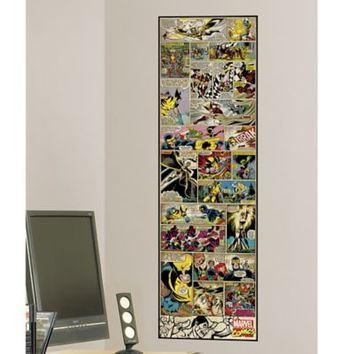 Marvel Comic Panel X-Men Classic Peel and Stick 1.5-Foot x 5-Foot Panel