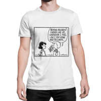 PEANUTS Buying Records Cheers Me Up T-Shirt