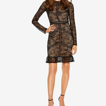 Bardot Lace Sheath Dress Women - Dresses - Macy's