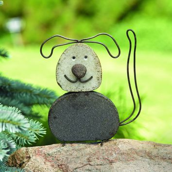 Dog River Stone Garden Statue - BACK IN STOCK AUGUST