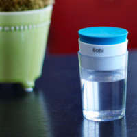 Carafe Portable Pill & Water Bottle Combo by Sabi