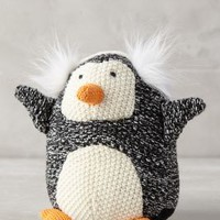 Earmuffed Penguin by Anthropologie in Black Size: One Size House & Home