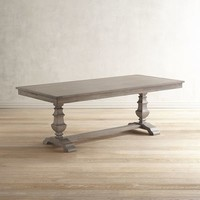 "Bradding 84"" Shadow Gray Dining Table"