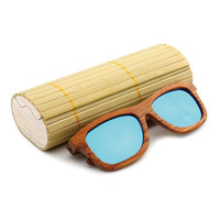 The new 2016 handmade wooden ladies fashion polarized sunglasses Shading mirror
