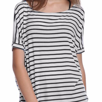 PIKO everyday striped tee