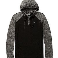 Hurley Valley Knit Pullover Henley - Black