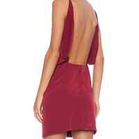 Assali Paola Mini Dress in Red