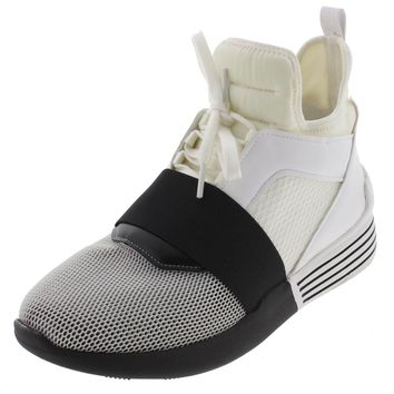 Kendall + Kylie Womens Braydin High Top Colorblock Fashion Sneakers