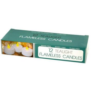 LED Flameless Tealight Candles Set (Available in a pack of 4)