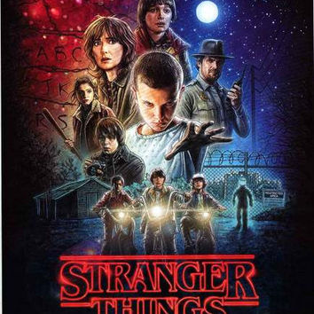 Stranger Things TV Show Poster 24x36