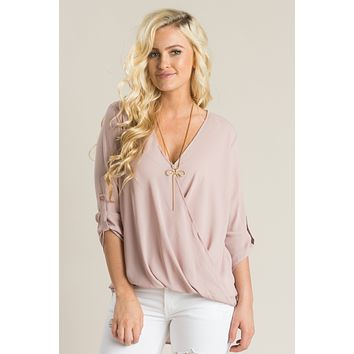 Holly Rose Surplice Blouse