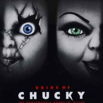Bride Of Chucky Movie Poster 11 inch x 17 inch poster