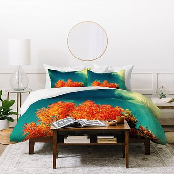 Krista Glavich Perfect Fall Duvet Cover