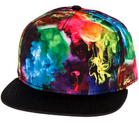 The Ink Clouds Snapback in Multi