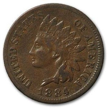 1884 Indian Head Cent VF
