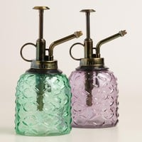 Vintage Style Glass Plant Misters Set of 2