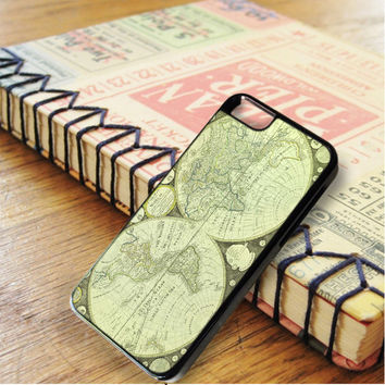 Green World Map iPhone 6 | iPhone 6S Case