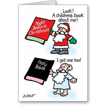 Santa & God children's books