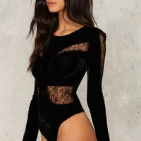 Seeing is Believing Lace Bodysuit