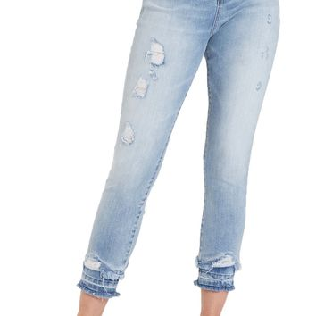 Dear John Olivia Super Highrise Pebble Shore Skinny Jeans