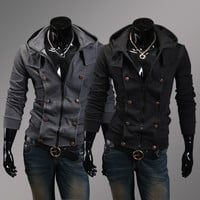 Winter Hoodies Casual Slim Men Tops Jacket [6528748035]