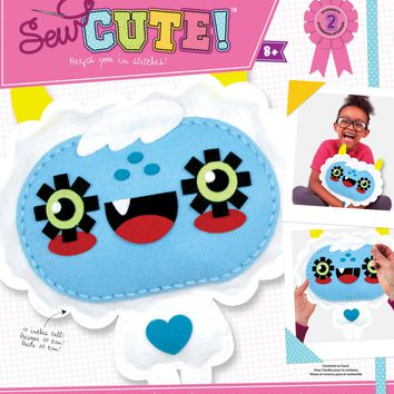 Yeti Pillow Sew Cute! Felt Kit-