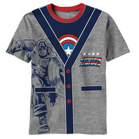 Captain America - CA-rdigan Juvy Costume T-Shirt